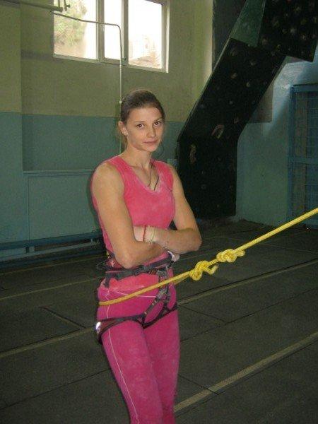 Тамара Кузнецова - скалолазка №1 в Казахстане.