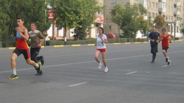 Расстояние марафона - 5 км