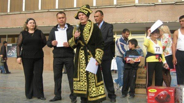 Рафаэль Абдурахманов - самый старший участник забега