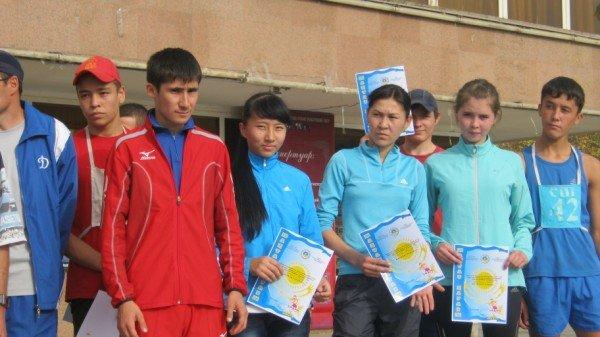 Первое место завоевал Алибек Абдинур (в красной форме)