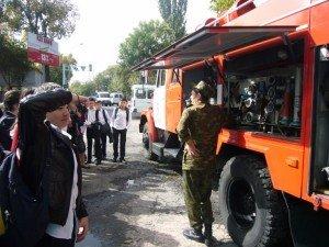 Знакомство с противопожарной техникой