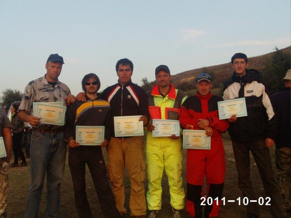 Шымкентские парапланеристы заняли 6 место на чемпионате Казахстана