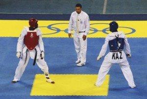 Шымкентские таэквондисты завоевали 2 олимпийские лицензии