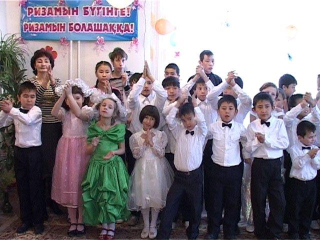 День благодарения для воспитанников шымкентского детского приюта стал уже традиционным праздником