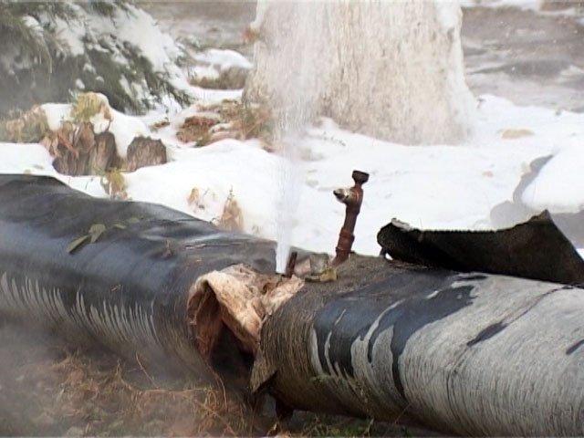 Порывов теплотрасс в Шымкенте очень много