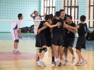 По итогам волейбольного турнира лидером бесспорно стал Аксукент
