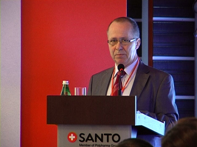 """Генеральный директор АО""""Химфарм"""" Влодимир Грыглевич, считает получение сертфиката GMP доказательством успешного развития предприятия."""