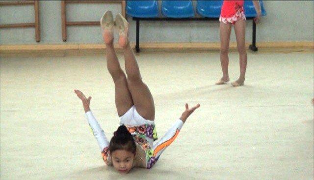 В Израиле от Азии выступали только шымкентские гимнастки
