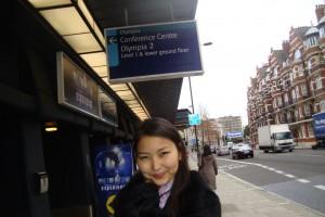 Гулисхан в Лондоне