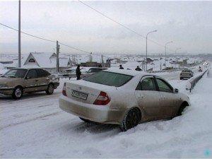 Снегопад вновь обернулся бедствием для Шымкента