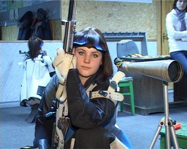 Елизавета Лунина, спортсменка по пулевой стрельбе