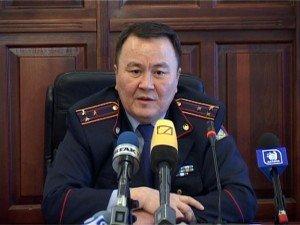 Начальник департамента внутренних дел ЮКО полковник Аскар Оспанов