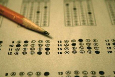 Бланк для ответов на тестовые вопросы. Фото с сайта vesti.kz