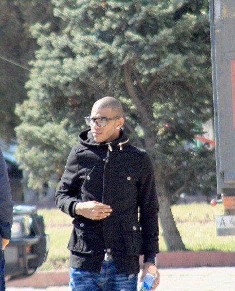 Бладимир Кабрера перед концертом в Шымкенте. Фото Иззата Ташова