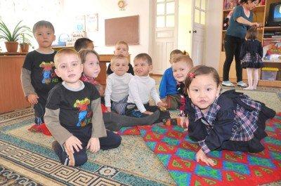 Самые маленькие обитатели шымкентского детского дома № 3
