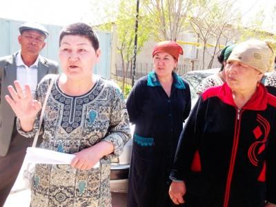 Гаухар Мансурова, жительница мкр-на Самал-3