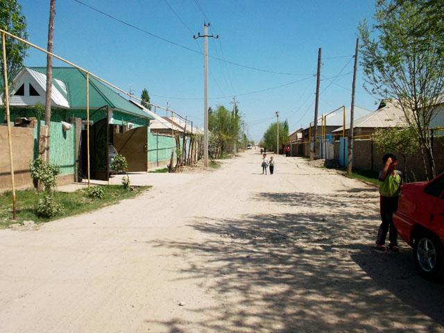 Ул. Б. Даулбаева. Одна из трех улиц, жители которой страдают от нехватки воды