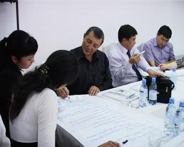 18 участников из трех городов Казахстана в течение двух дней обучались основам мультимедийной журналистике