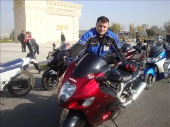 Илья Носков на Шымкентском мотосезоне