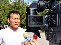 Один из организаторов состязания Адма Ли