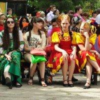 Русскую культуру представляет молодежь города