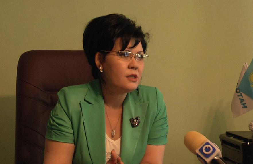 Жанат Тажиева, начальник городского отдела образования
