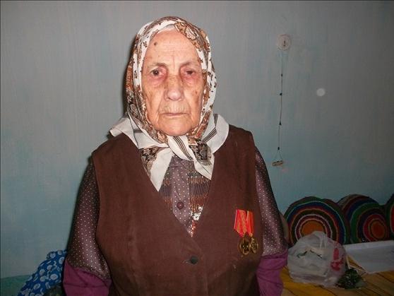 Мария Богомолова - ветеран тыла