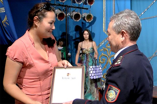 "Продюсер ТК ""Отырар"" Лилия Шамарданова"