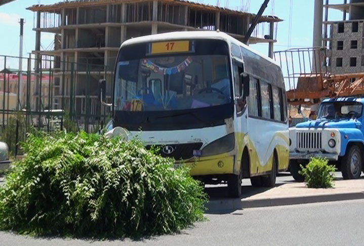 Автобус №17 на полном ходу врезался в дерево