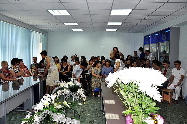 Большое собрание в честь профессионального праздника сотрудников СМИ проводится раз в год