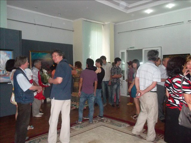 В этот день в музее было большое количество поклонников художественного искусства