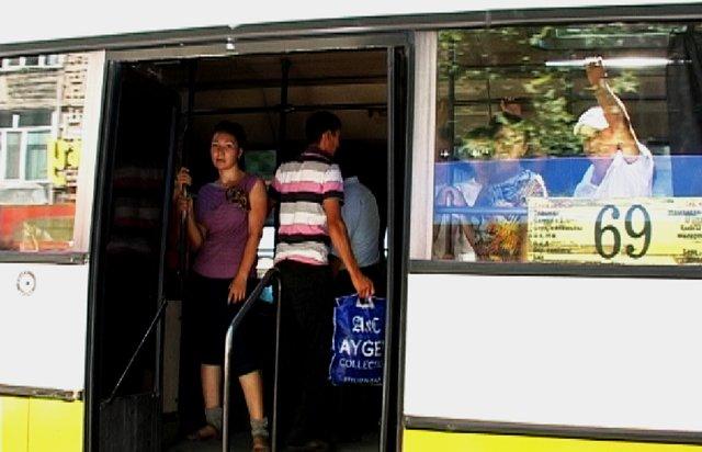 Автобусы Шымкента