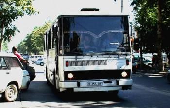 Общественный транспорт Шымкента