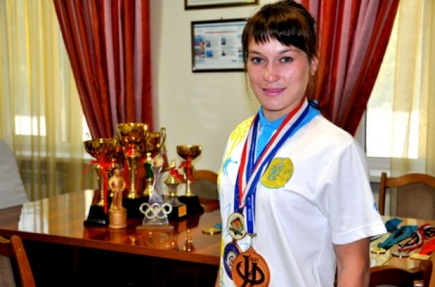 Александра Подрядова - чемпионка РК по дзюдо