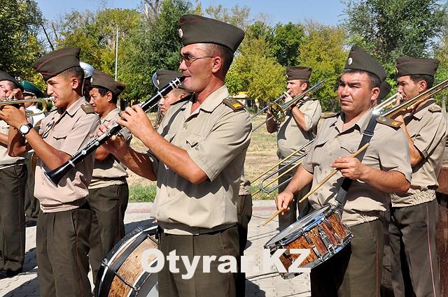Минутой молчания почтили память пограничников в Шымкенте