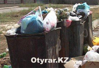 Жители Аль-Фарабийского района в мусорном баке одной из центральных улиц города обнаружили тело новорождённого младенца.