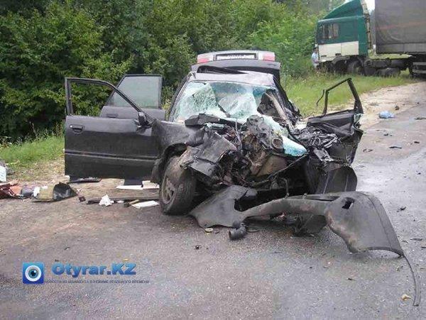 Эпидемия ДТП в Южном Казахстане