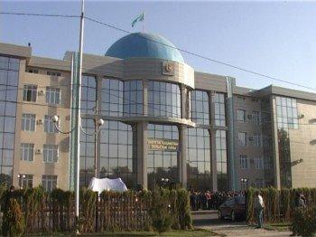 Новое здание Областного суда Южного Казахстана