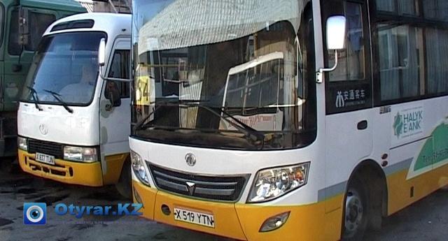 Автобусы на ремонте