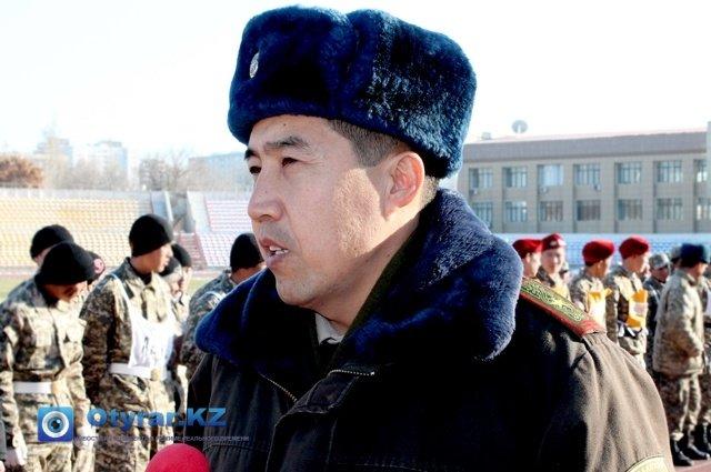 Ажимухан Шынтаев, заместитель начальника департамента по делам обороны ЮКО