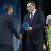 Аскар Мырзахметов удостоился почетной грамоты Президента РК