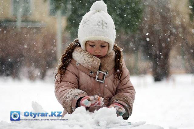 Зима в Шымкенте