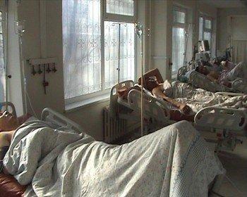 Пострадавшие сотрудники фирмы в больнице