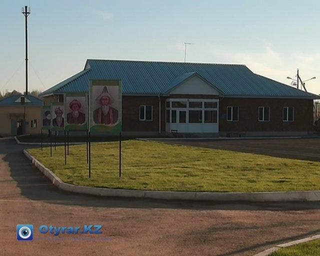 """Новая пограничная застава """"Ушкын"""" открыла двери для военнослужащих."""
