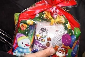 В честь праздника подарки на дом
