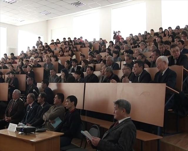 Утренние занятия у студентов педагогического университета начались с необычной лекции