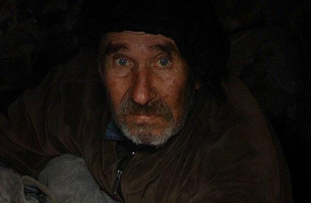 Бомж Виктор Ширяев