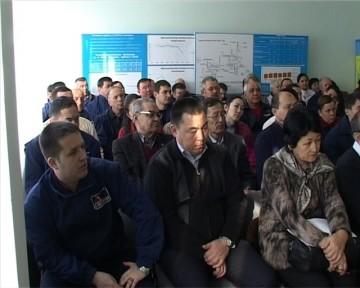 Работники ТЭЦ-3 обсуждали послание президента