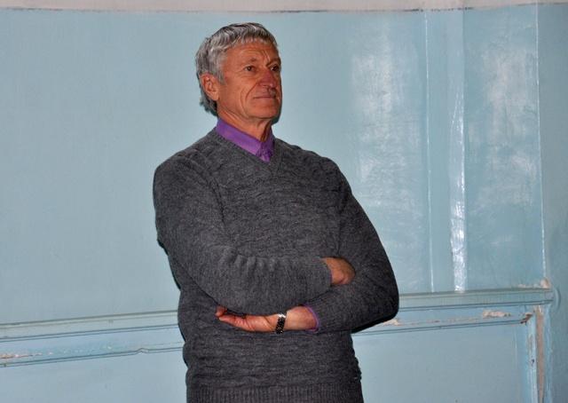 Владимир Селиванов, старший тренер по скалолазанию ЮКО.
