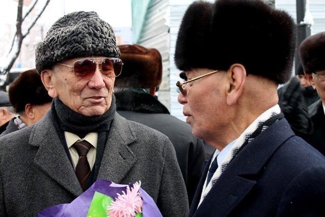 Пенсионеры, которые хорошо знали Динмухамеда Ахметовича, вспоминают его.